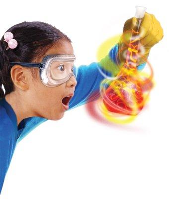 Girl with flask image